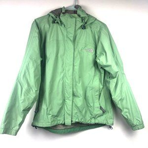 The North Face Green Rain Jacket Waterproof Small